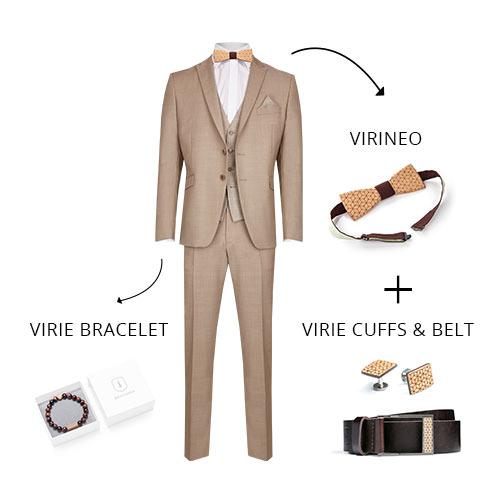 Vintage Outfit für den Bräutigam