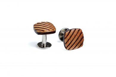 BeWooden - Manschettenknöpfe aus Holz Sull