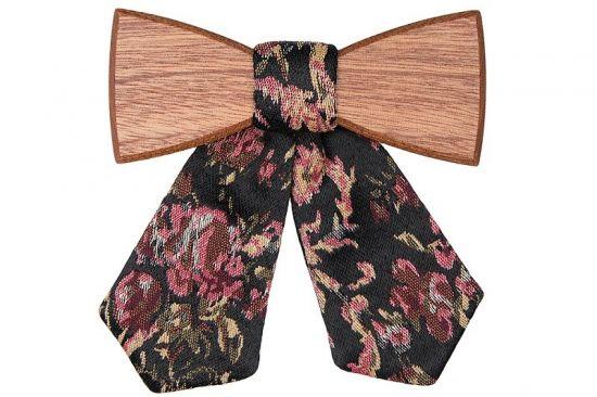 BeWooden - Holzfliege Rosis für Damen