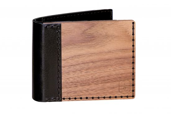 Holz-Portemonnaie Nox Virilia für Männer