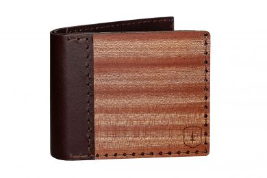 BeWooden - Holz-Portemonnaie Red Virilia