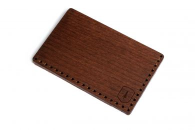 BeWooden - Holz-Kartenhalter Brunn Note