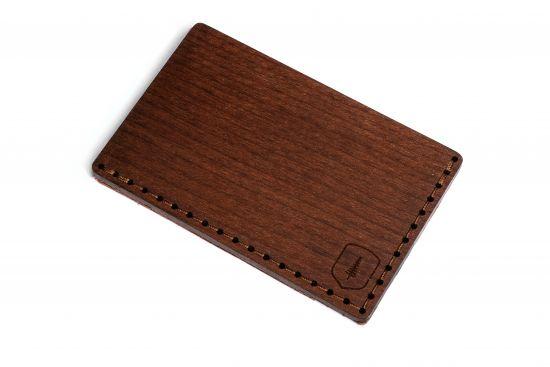Holz-Kartenhalter Brunn Note