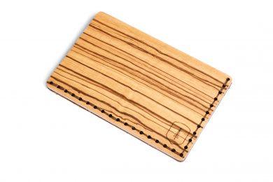 BeWooden - Holz-Kartenhalter Linea Note