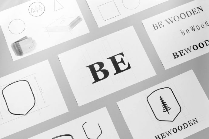 Rebranding logo Bewooden
