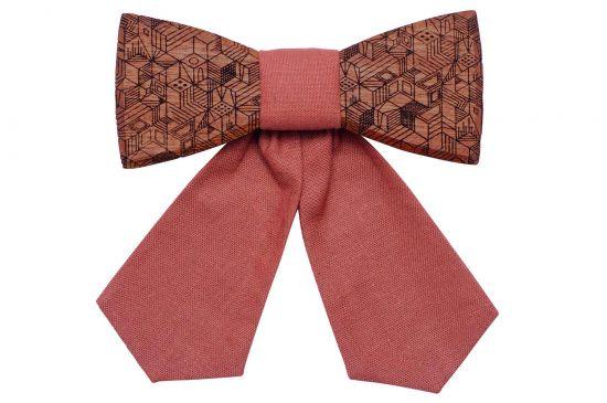 BeWooden - Holzfliege Rea für Damen handgefertigt