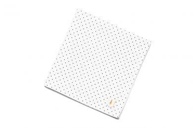 Anzug Einstecktuch einzigartig Dots square