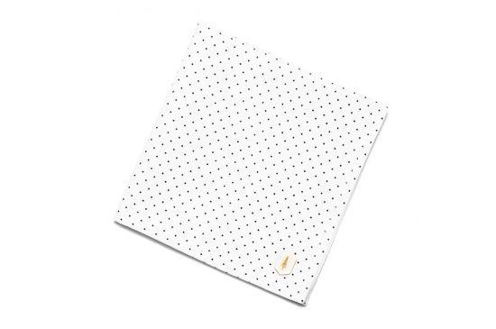 BeWooden - Anzug Einstecktuch einzigartig Dots square