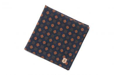 BeWooden - Anzug Einstecktuch einzigartig Sapphire square