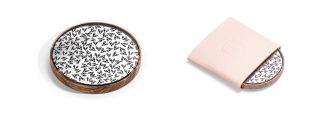 Klein und verzaubernd  - Holztaschen-spiegel von BeWooden