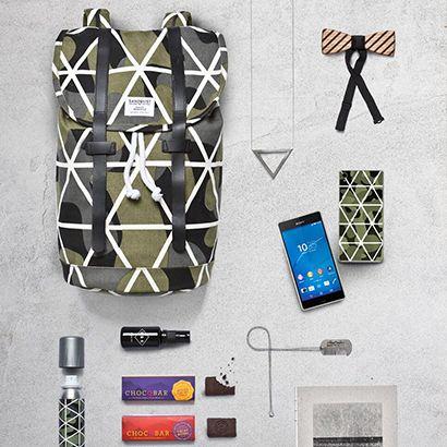 Accessoires für einen Ausflug in die Berge