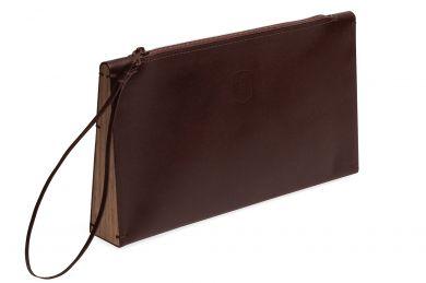 BeWooden - Clutch Handtasche Brunn für Damen