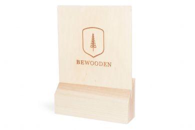 BeWooden - Logo Stand B