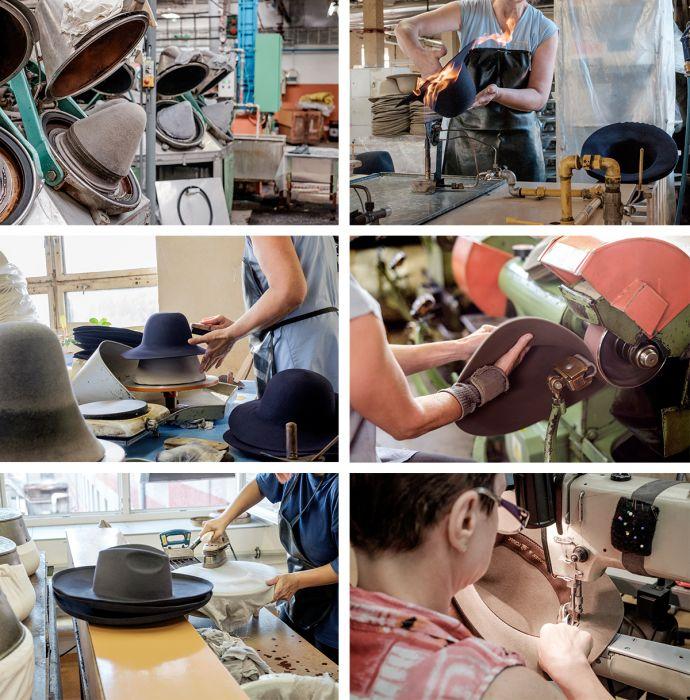 Tonak Produktion von handgefertigten Hüten