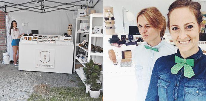 BeWooden Stand mit Holzprodukten auf Colours of Ostrava