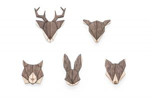 Animal Brooches Set II.