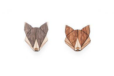 BeWooden - Wolf Fox set 0