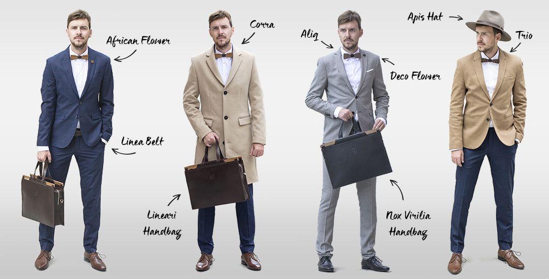 Elegante Accessoires für Gentlemen