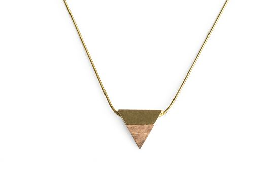 BeWooden - 0  Sole neclace triangle