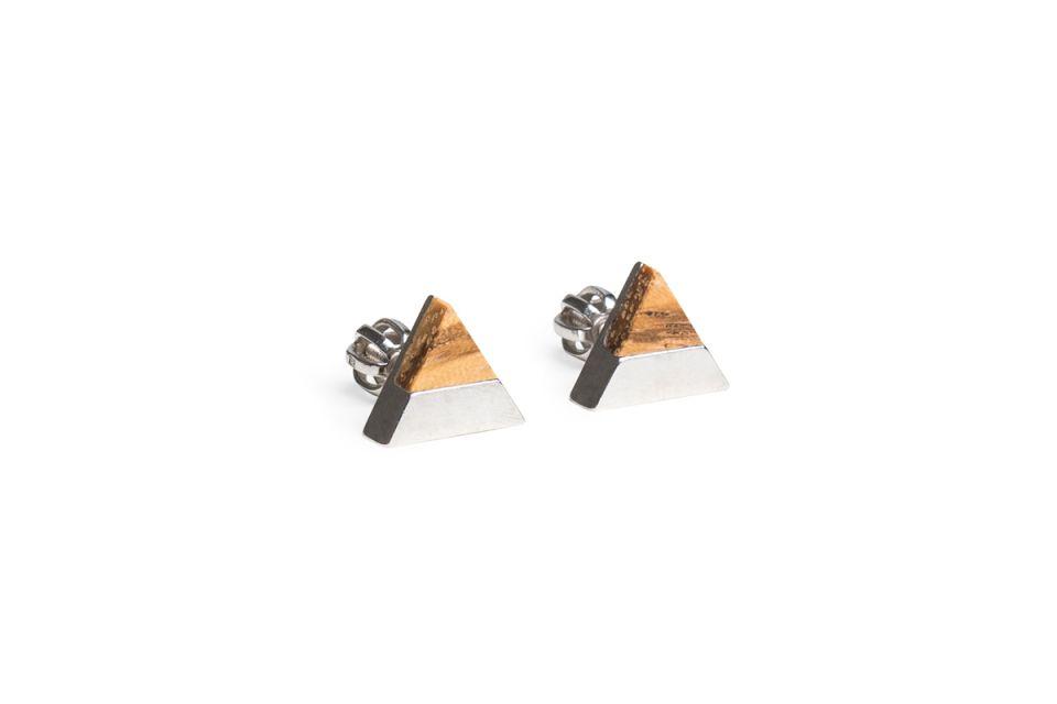 Api Earrings Triangle