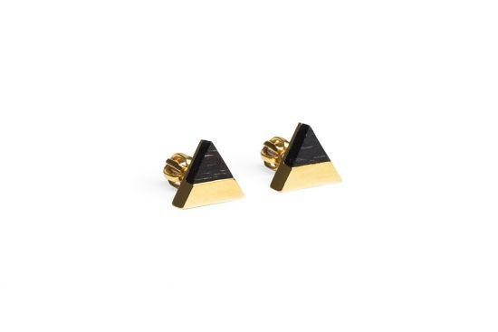 BeWooden - 0 Vespa earrings triangle