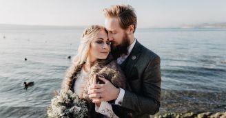 Eine magische Hochzeit im skandinavischen Stil