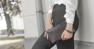 Funktionalität: Stilvolle Clutch Handtasche