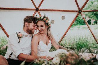 Eine außergewöhnliche Hochzeit im Boho Style