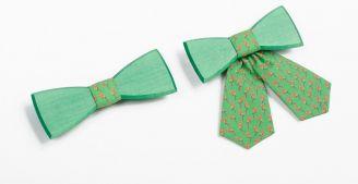 BeWooden - Grüne Fliege - Das perfekte Sommer-Accessoire