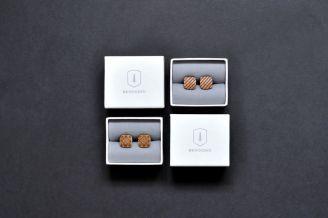 BeWooden - Personalisierte Manschettenknöpfe - edle Accessoires