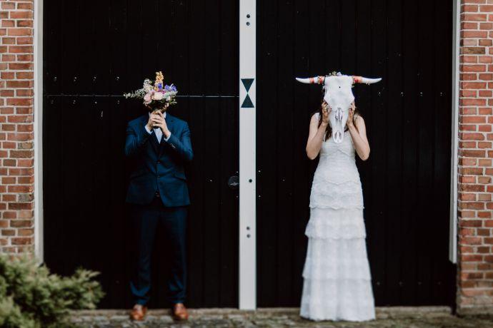 Hochzeitsfotografie im Vintage Stil