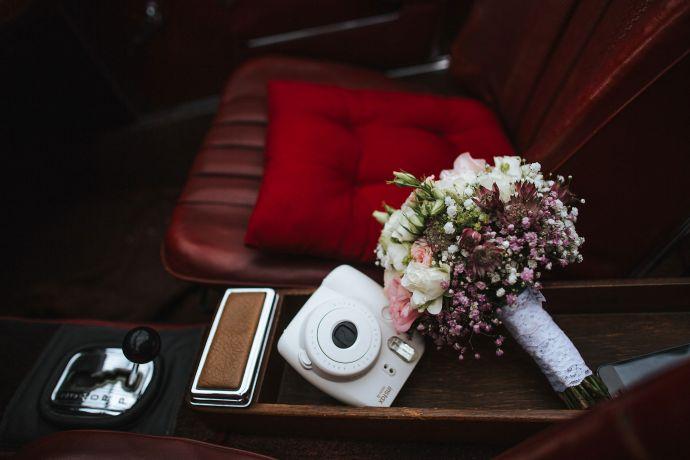 Moderne Vintage-Hochzeit