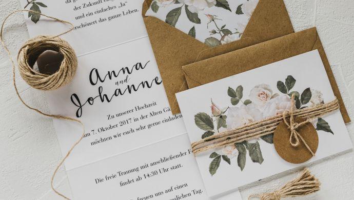 Die Besten Tipps Fur Deine Vintage Hochzeitseinladungen Und Karten