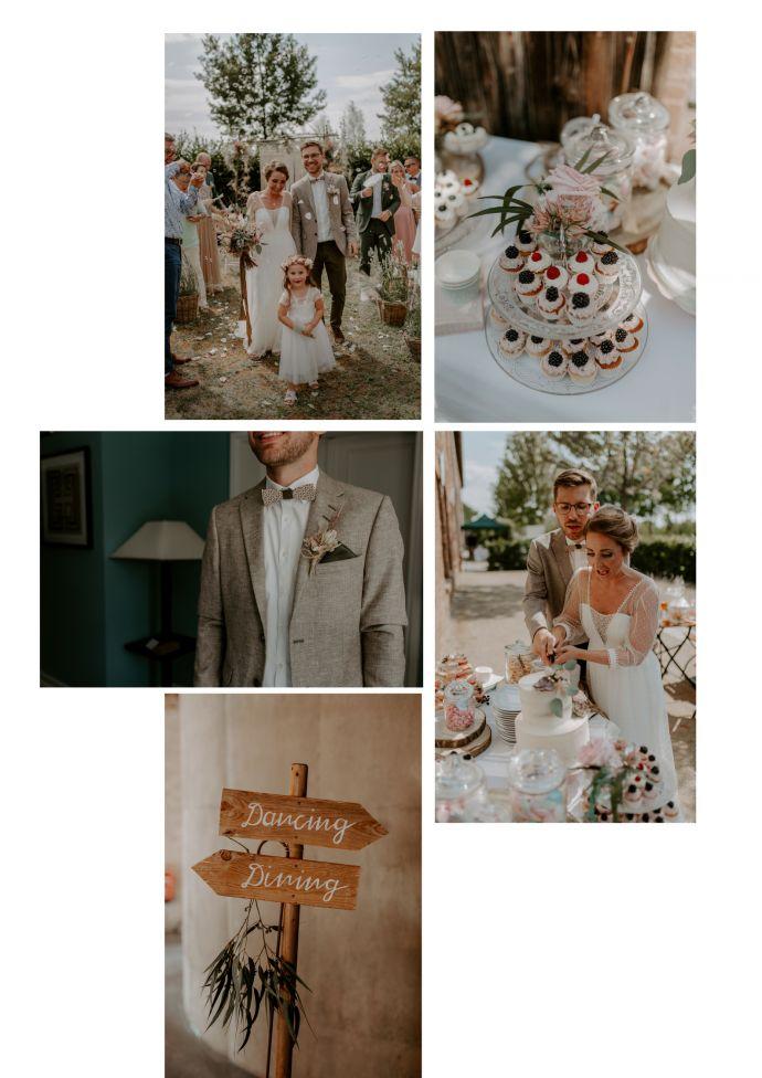 Vintage Boho Hochzeit Isabell Julian Bewooden