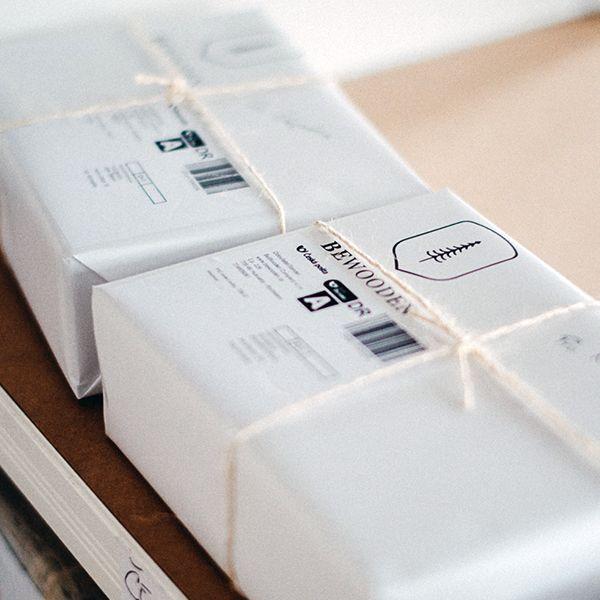 Ein BeWooden-Paket