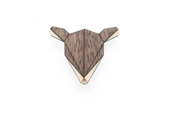 BeWooden - Doe Brooch