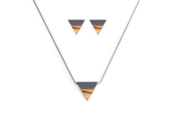 BeWooden - Earrings & Necklace Api Set