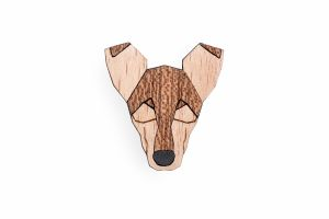 Smooth Collie Brooch
