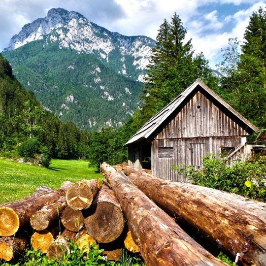 Inmitten der österreichischen Alpen
