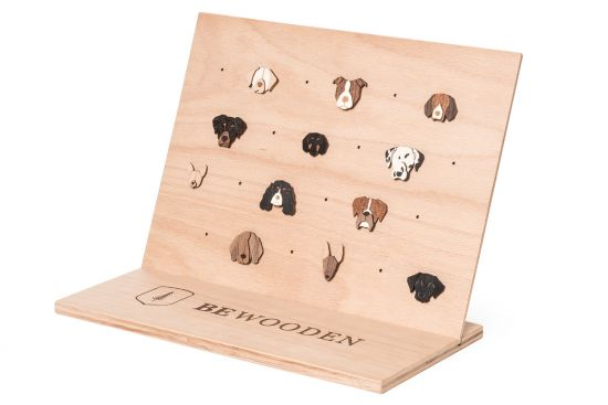 BeWooden - Brooches Stand Big 1
