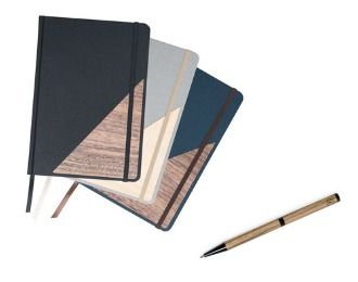 Stifte und Notizbücher