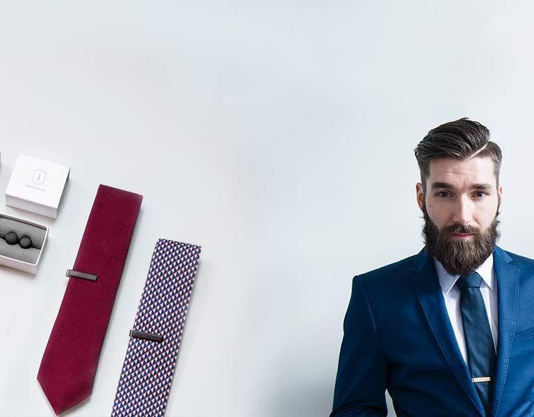 Krawattenklammer aus Holz