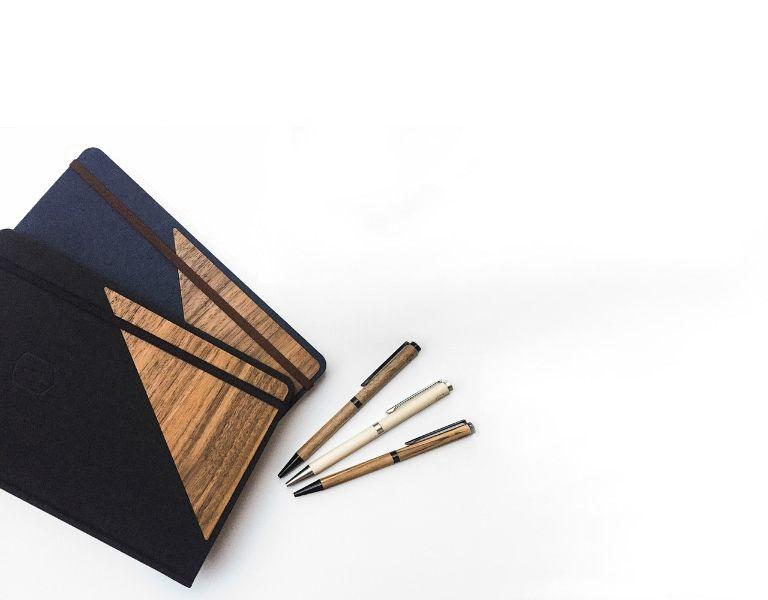 Schreibwaren aus Holz