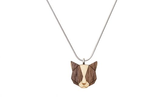 Grey Cat Pendant