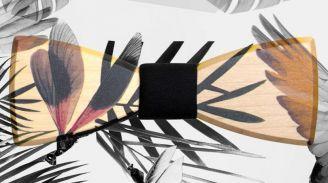 BeWooden - Holzfliegen im ARTHELPS-Design