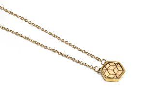 Virie Necklace Hexagon