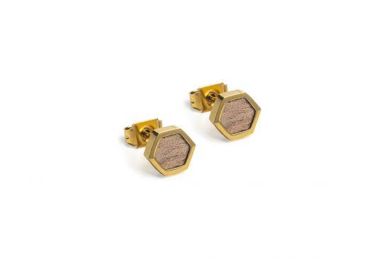 Apis Earrings Hexagon