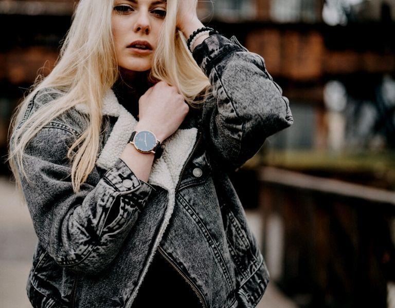 Holz Armbanduhren Damen
