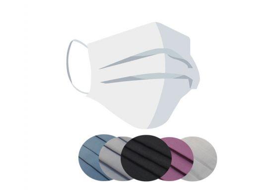 Stilvolle Mund-Nasen-Maske Master BeWooden aus 100% Baumwolle