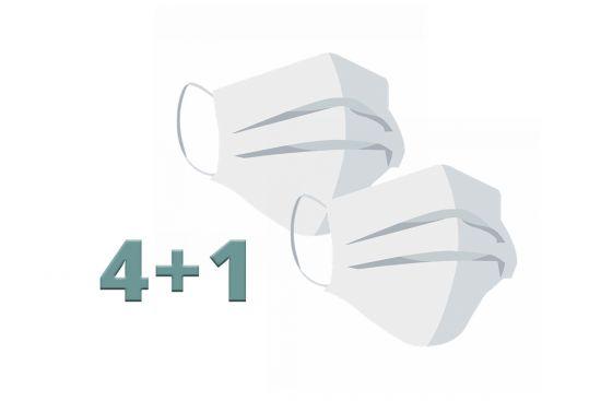BeWooden - 4+1 masks